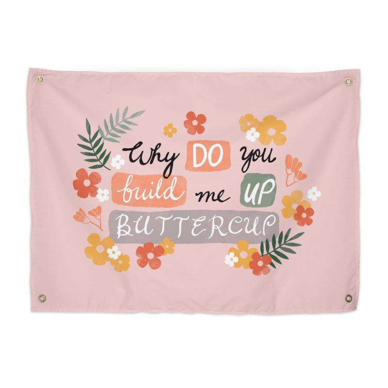 BUTTERCUP Home Tapestry by Winterglaze's Artist Shop