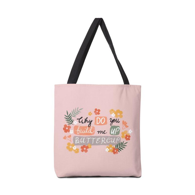 BUTTERCUP Accessories Tote Bag Bag by Winterglaze's Artist Shop