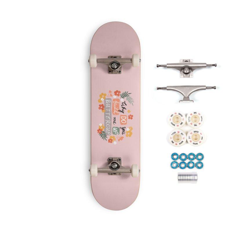 BUTTERCUP Accessories Complete - Premium Skateboard by Winterglaze's Artist Shop