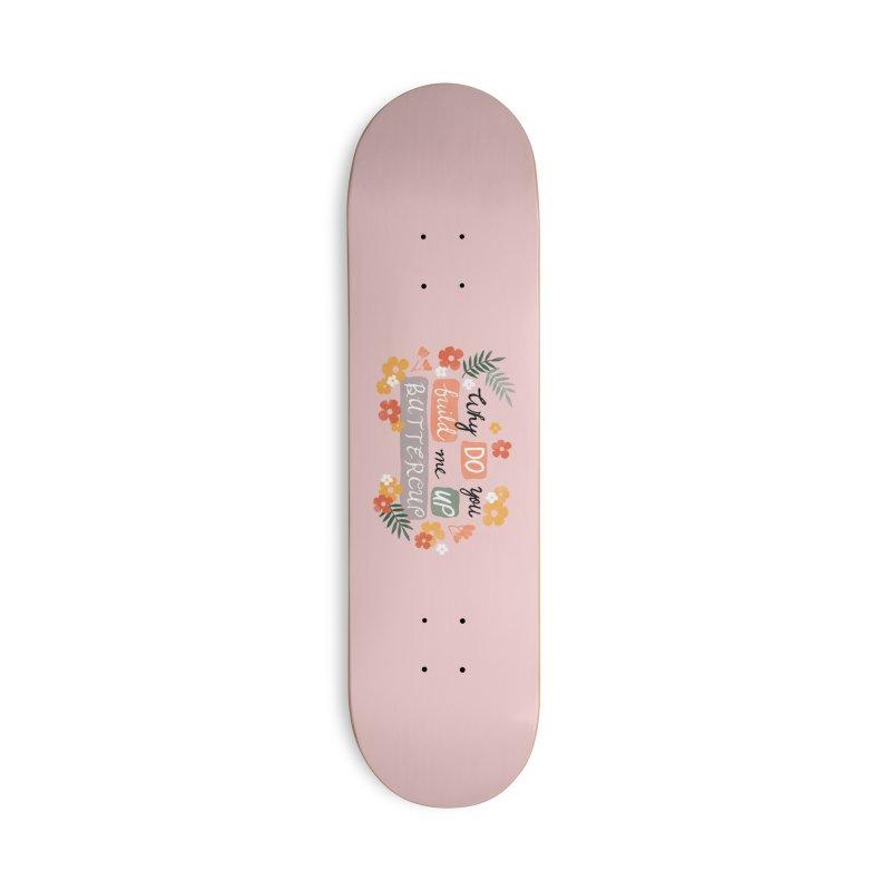 BUTTERCUP Accessories Deck Only Skateboard by Winterglaze's Artist Shop