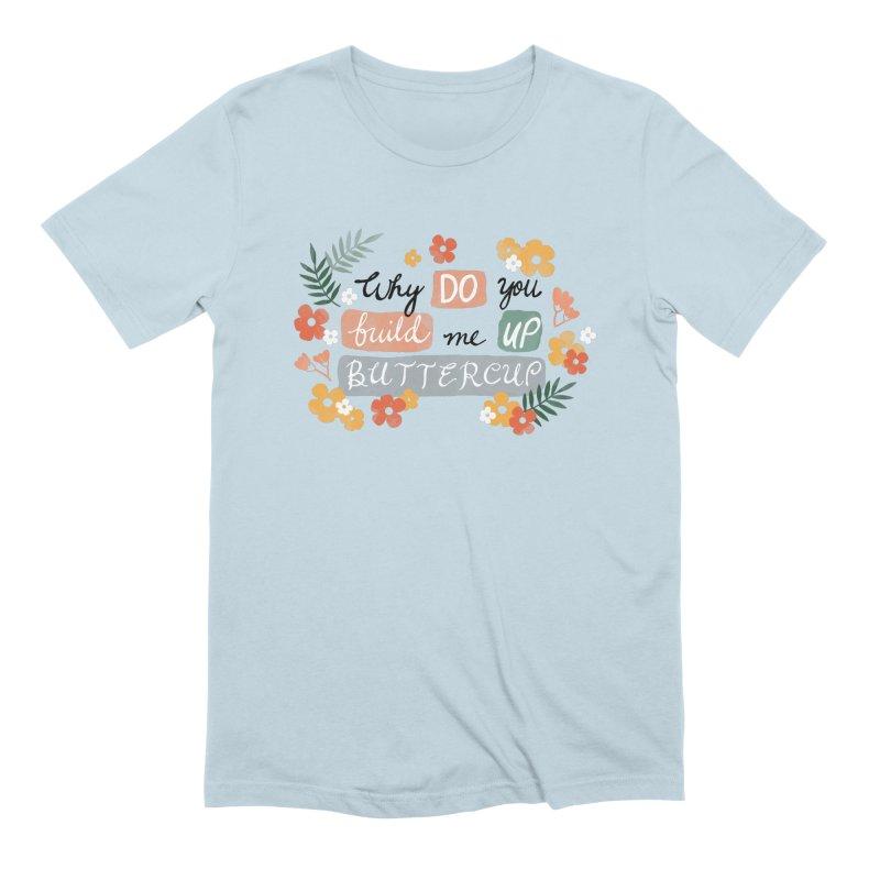 BUTTERCUP Men's Extra Soft T-Shirt by Winterglaze's Artist Shop