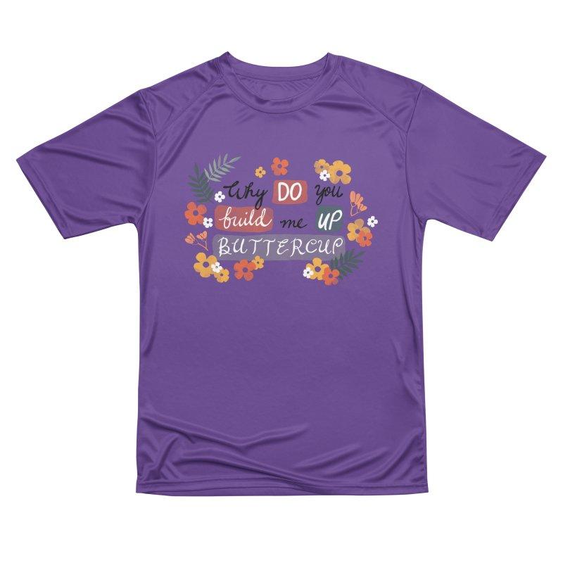 BUTTERCUP Men's Performance T-Shirt by Winterglaze's Artist Shop