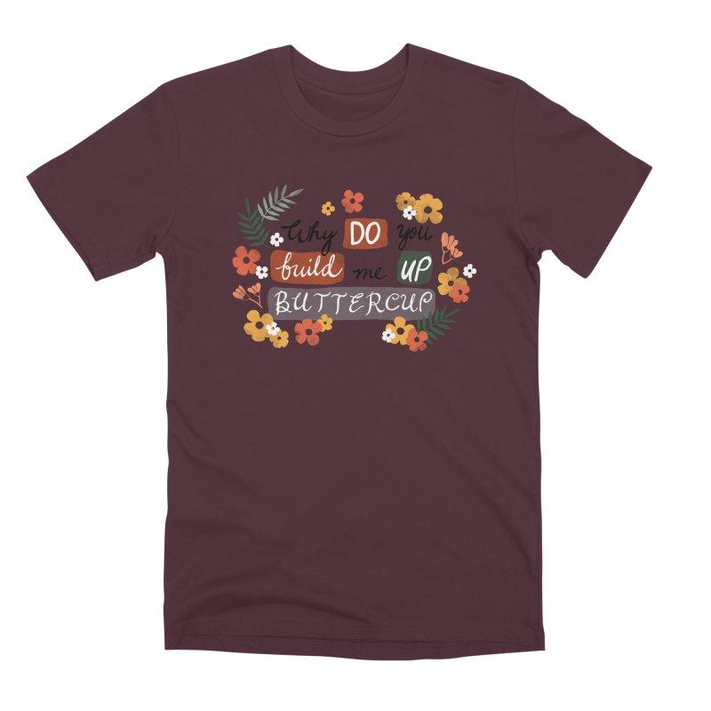 BUTTERCUP Men's Premium T-Shirt by Winterglaze's Artist Shop