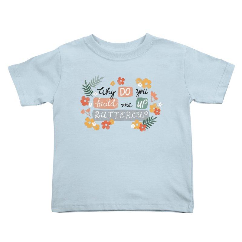 BUTTERCUP Kids Toddler T-Shirt by Winterglaze's Artist Shop