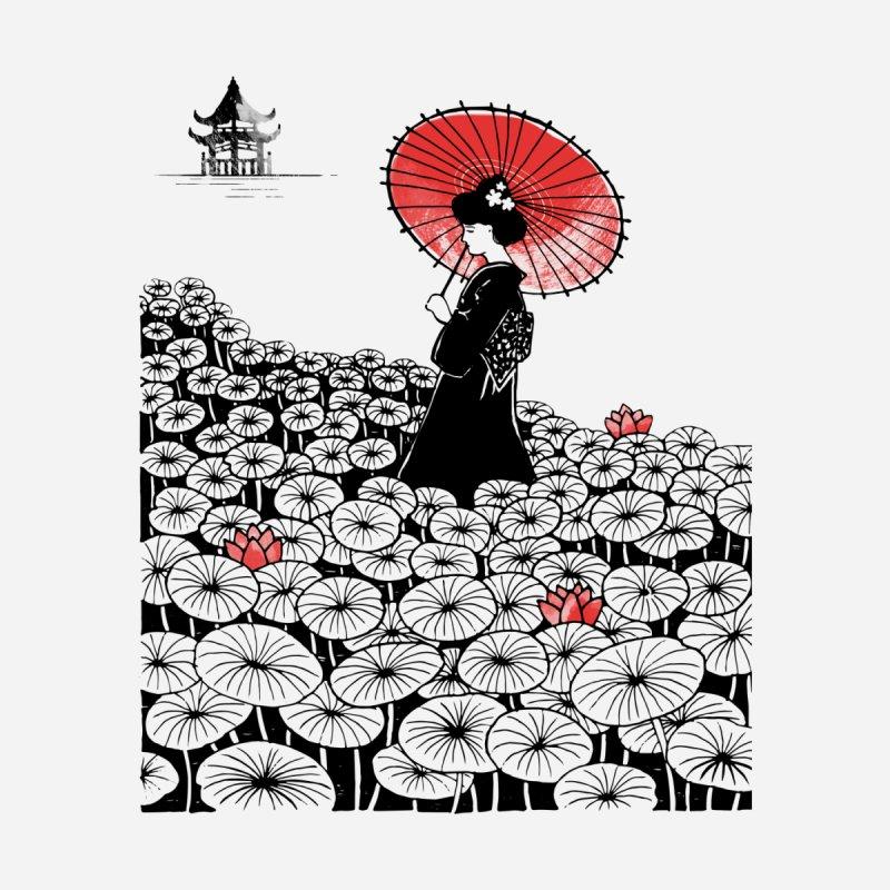 Geisha Men's T-Shirt by Winterglaze's Artist Shop
