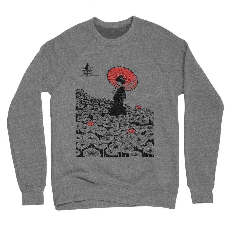 Geisha Women's Sponge Fleece Sweatshirt by Winterglaze's Artist Shop