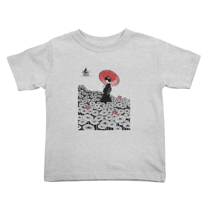 Geisha Kids Toddler T-Shirt by Winterglaze's Artist Shop