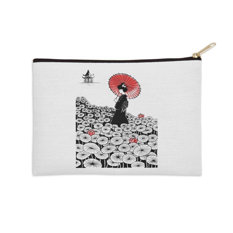 Geisha Accessories Zip Pouch by Winterglaze's Artist Shop