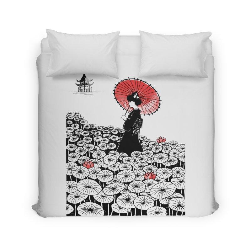 Geisha Home Duvet by Winterglaze's Artist Shop