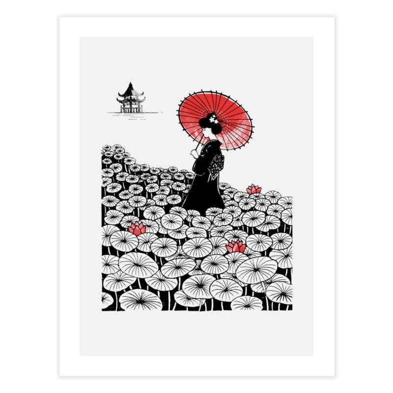 Geisha Home Fine Art Print by Winterglaze's Artist Shop