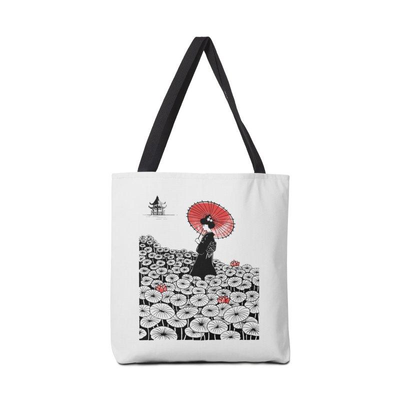 Geisha Accessories Tote Bag Bag by Winterglaze's Artist Shop