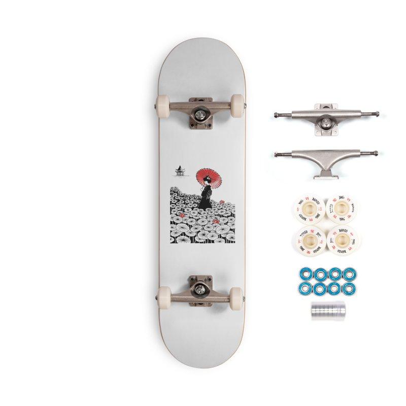 Geisha Accessories Complete - Premium Skateboard by Winterglaze's Artist Shop