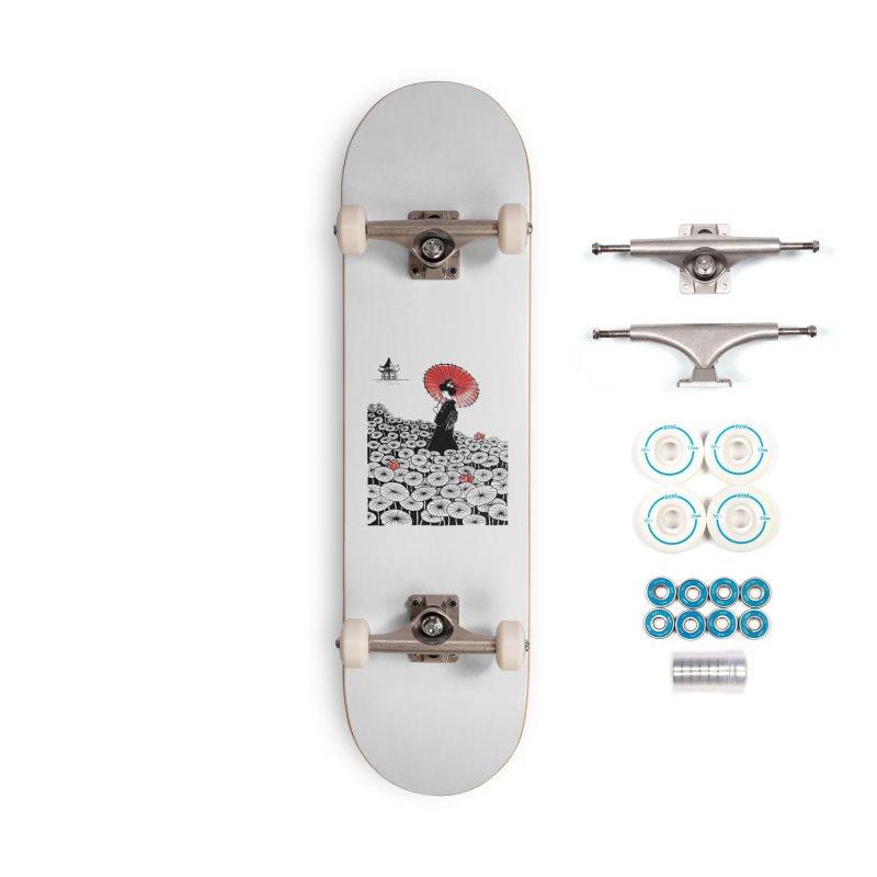 Geisha Accessories Complete - Basic Skateboard by Winterglaze's Artist Shop