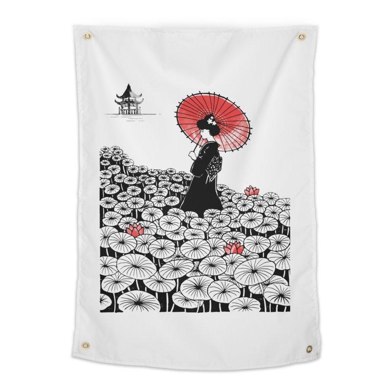 Geisha Home Tapestry by Winterglaze's Artist Shop