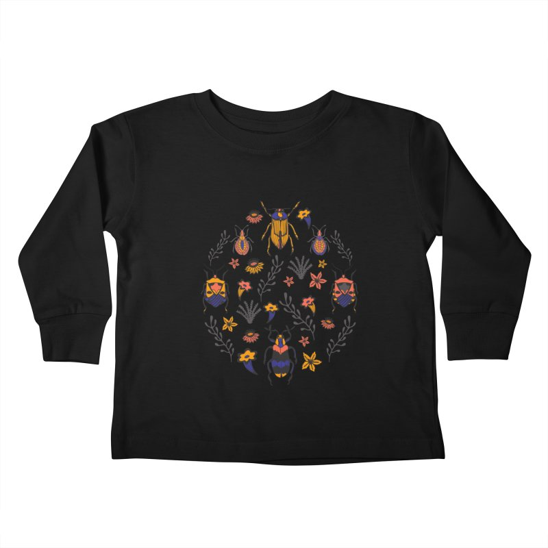 BEETLE UP Kids Toddler Longsleeve T-Shirt by Winterglaze's Artist Shop