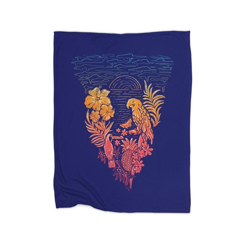 SLICE OF PARADISE Home Blanket by Winterglaze's Artist Shop