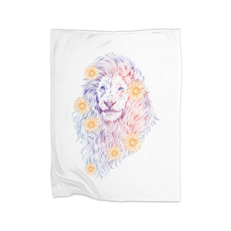 WILD BLOOM Home Blanket by Winterglaze's Artist Shop