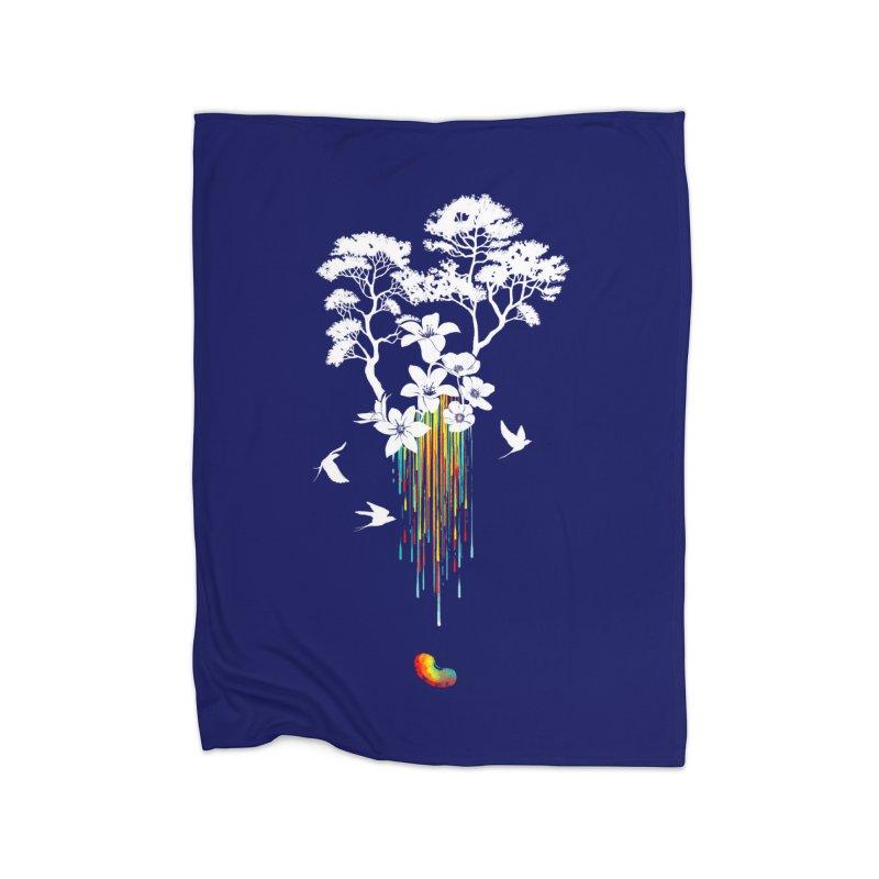 NATURE'S LITTLE WONDER Home Blanket by Winterglaze's Artist Shop