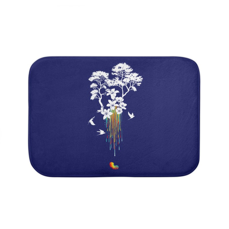 NATURE'S LITTLE WONDER Home Bath Mat by Winterglaze's Artist Shop