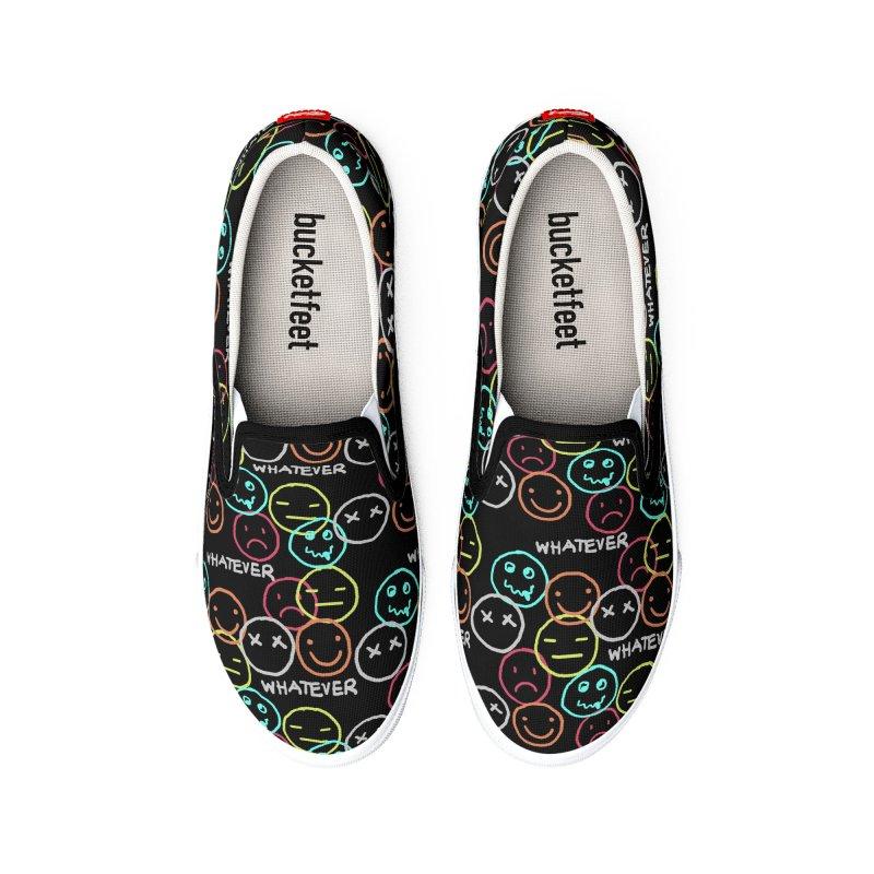WHATEVER Men's Shoes by Winterglaze's Artist Shop