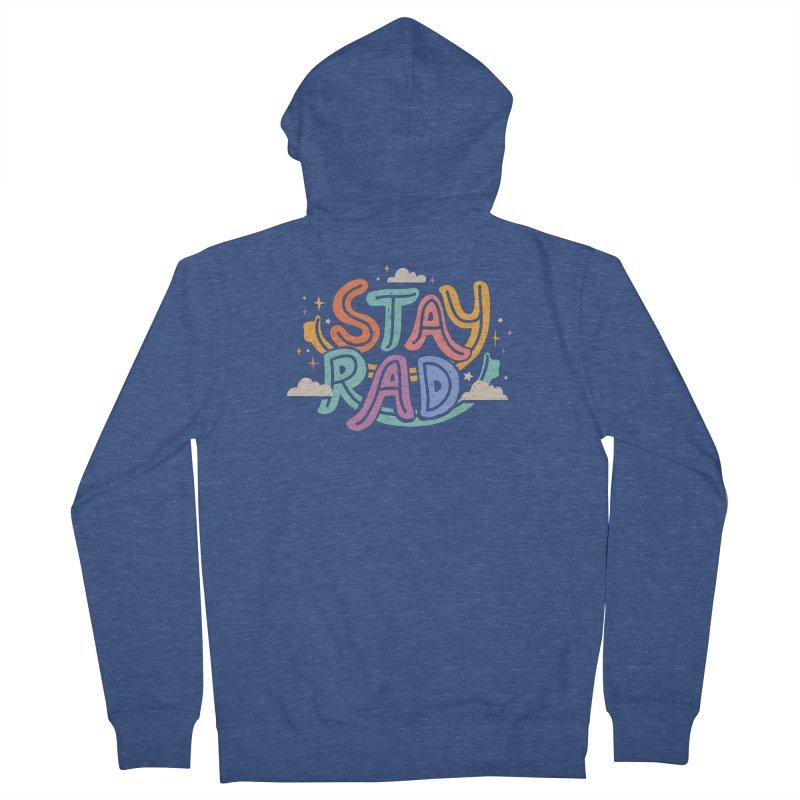 STAY RAD Men's Zip-Up Hoody by Winterglaze's Artist Shop