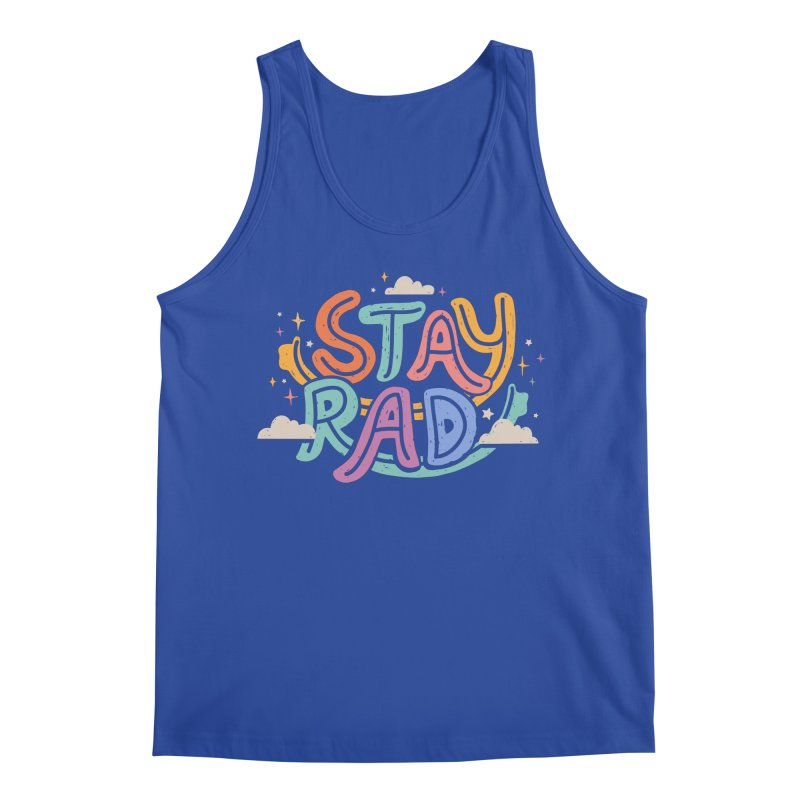 STAY RAD Men's Tank by Winterglaze's Artist Shop