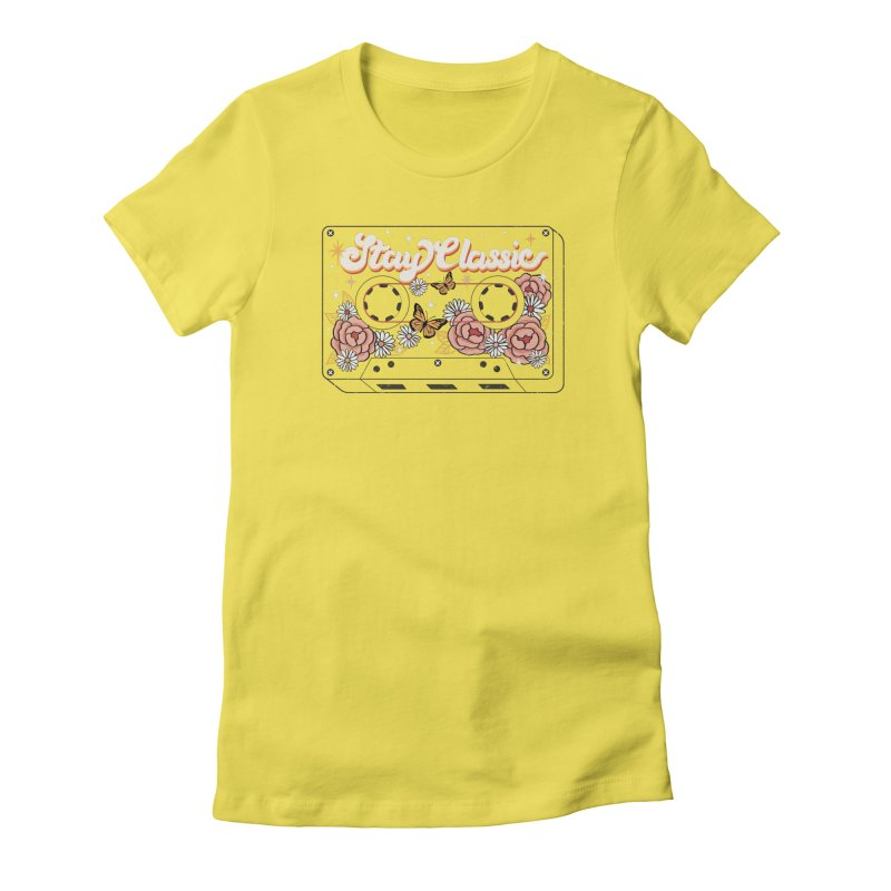 STAY CLASSIC Women's T-Shirt by Winterglaze's Artist Shop