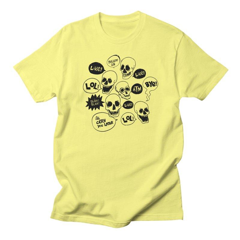 CHITCHAT Men's T-Shirt by Winterglaze's Artist Shop