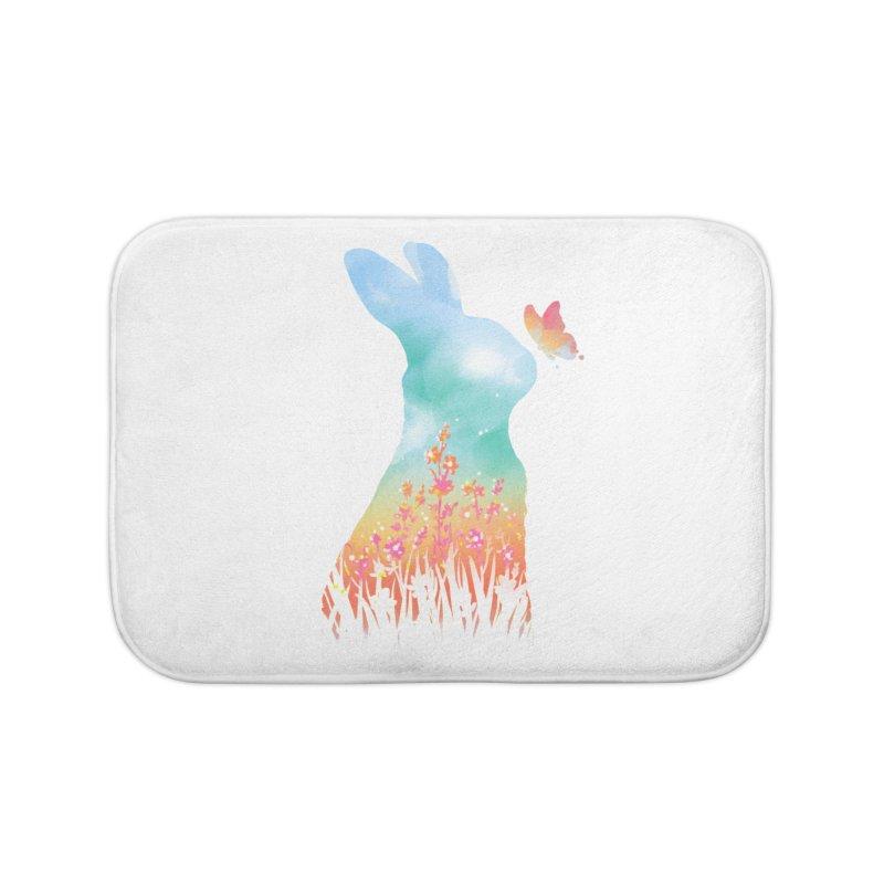 HELLO SPRING Home Bath Mat by Winterglaze's Artist Shop