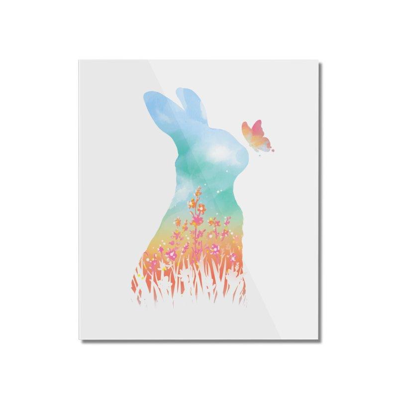 HELLO SPRING Home Mounted Acrylic Print by Winterglaze's Artist Shop