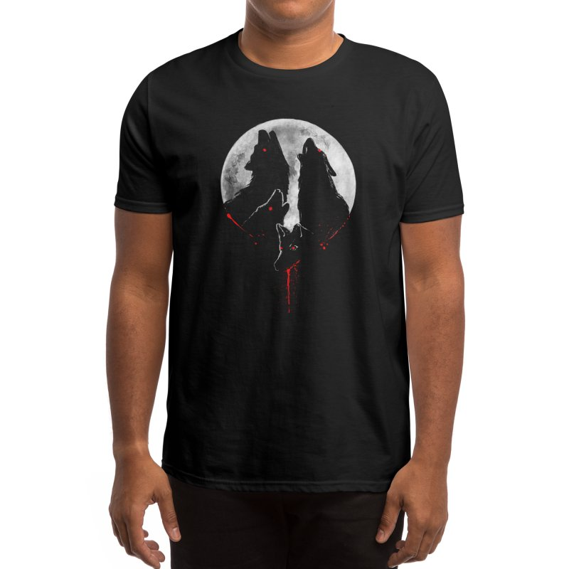 MIDNIGHT HUNTING Men's T-Shirt by Winterglaze's Artist Shop