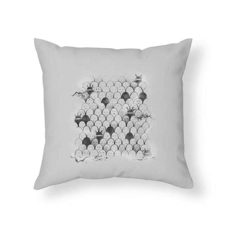 Like a shadow! Home Throw Pillow by Winterglaze's Artist Shop