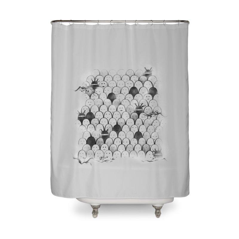 Like a shadow! Home Shower Curtain by Winterglaze's Artist Shop