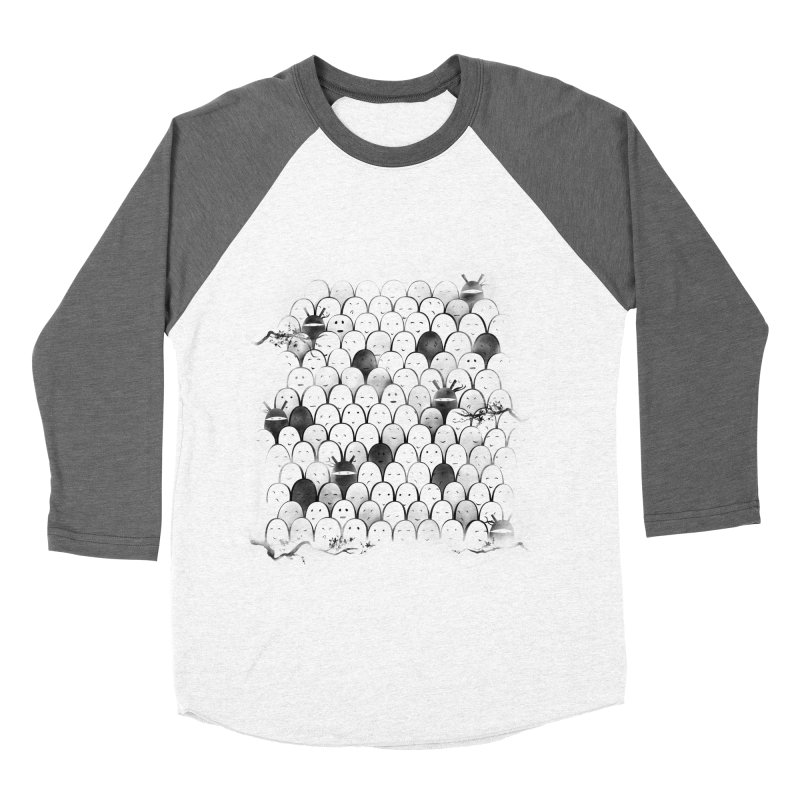 Like a shadow! Women's Baseball Triblend Longsleeve T-Shirt by Winterglaze's Artist Shop