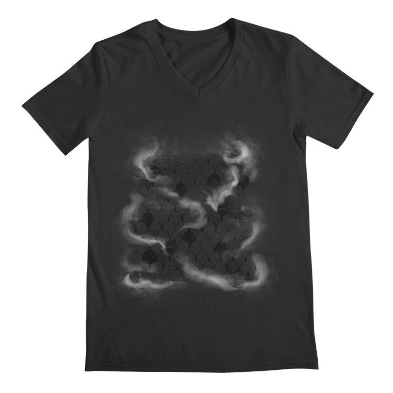 Like a shadow! Men's V-Neck by Winterglaze's Artist Shop
