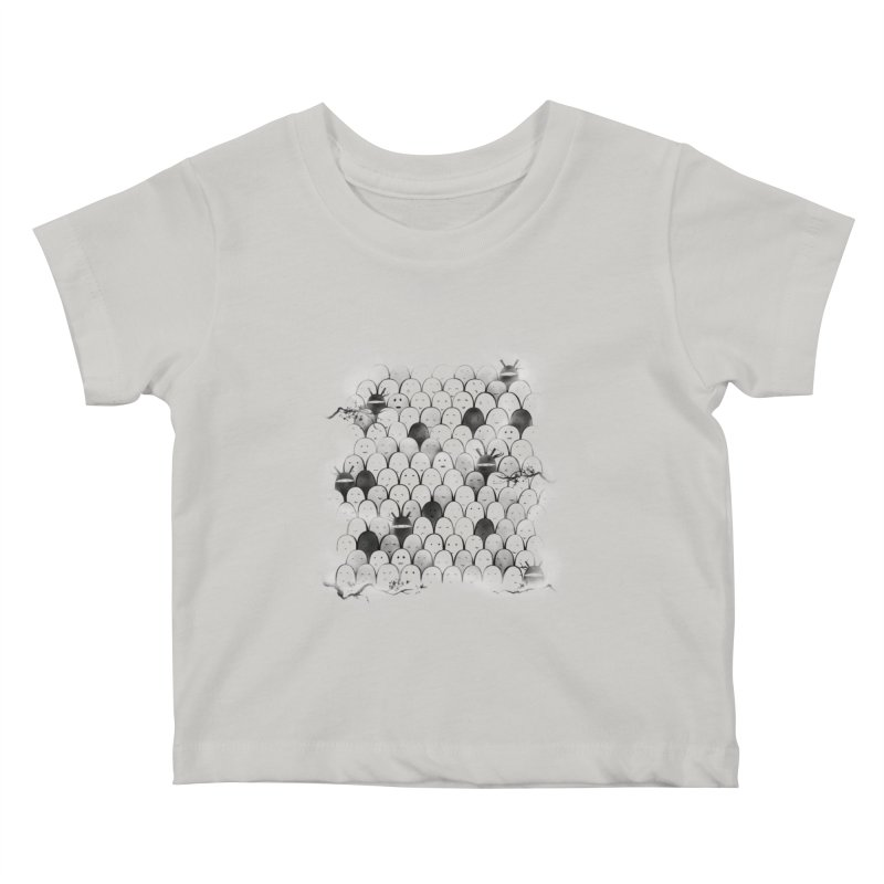Like a shadow! Kids Baby T-Shirt by Winterglaze's Artist Shop