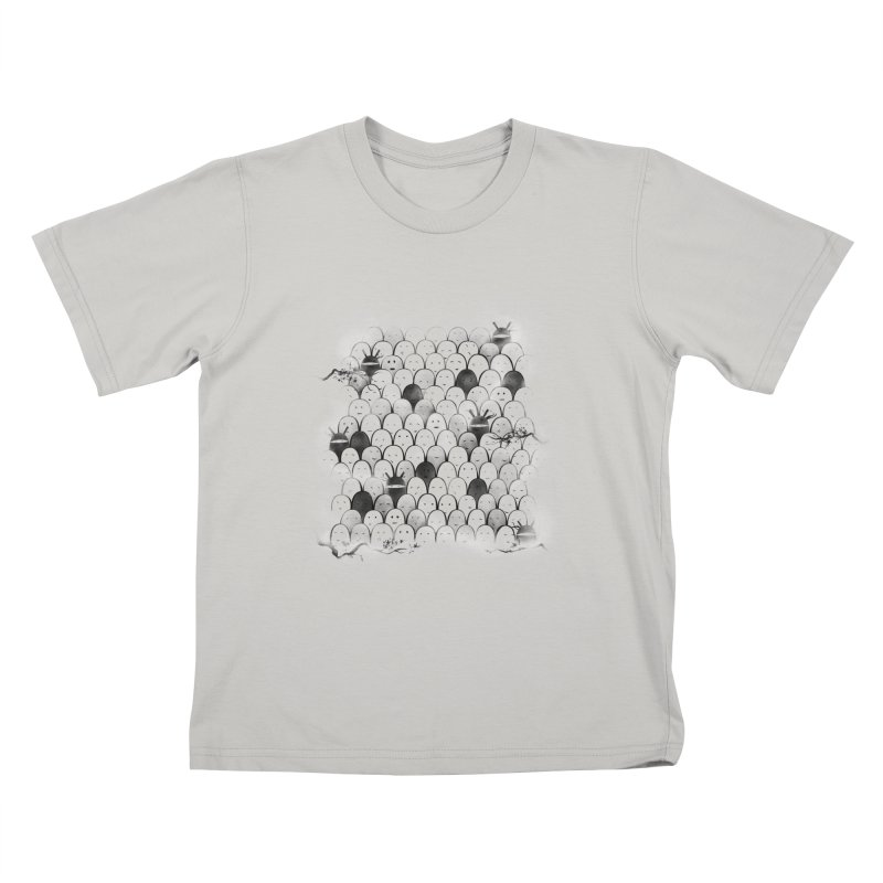 Like a shadow! Kids T-shirt by Winterglaze's Artist Shop