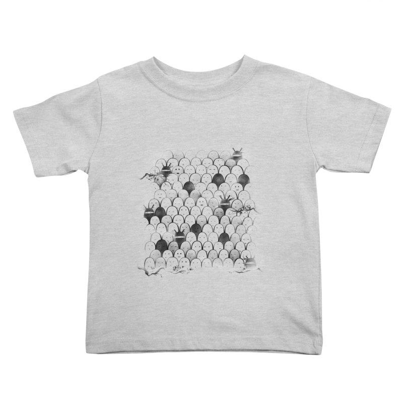 Like a shadow! Kids Toddler T-Shirt by Winterglaze's Artist Shop