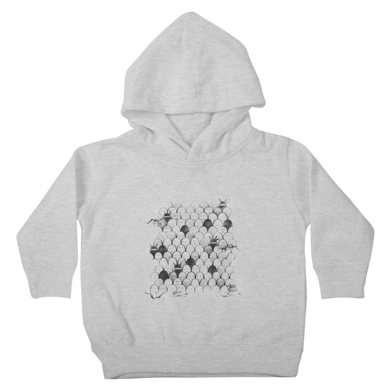 Like a shadow! Kids Toddler Pullover Hoody by Winterglaze's Artist Shop