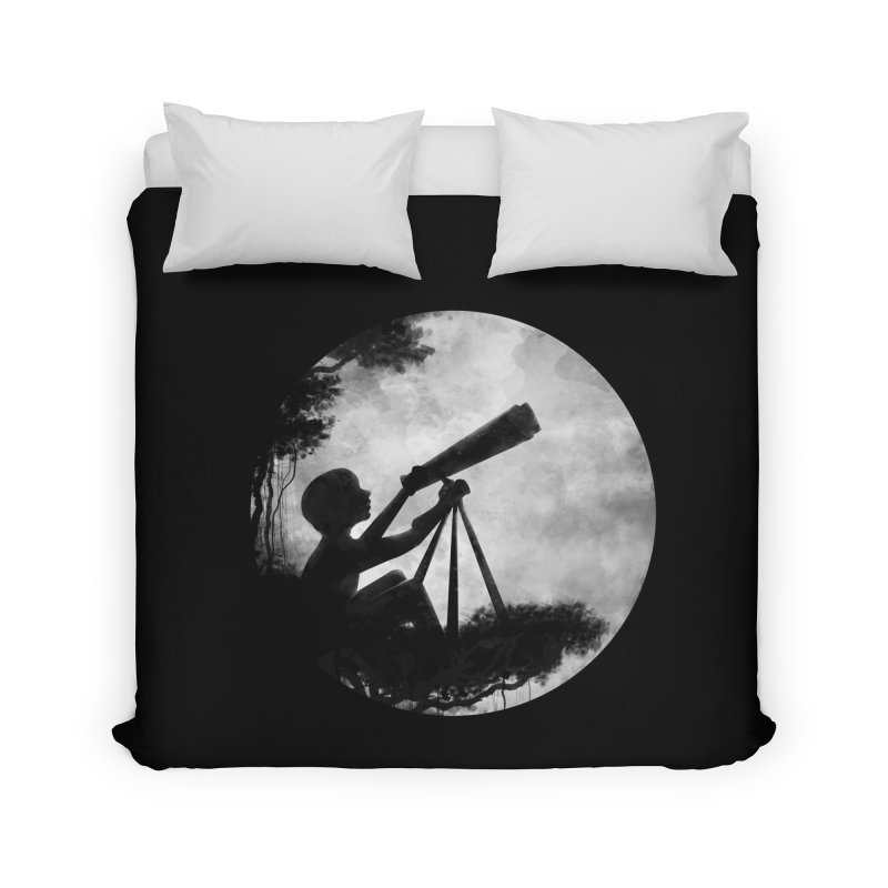 STARGAZER Home Duvet by Winterglaze's Artist Shop