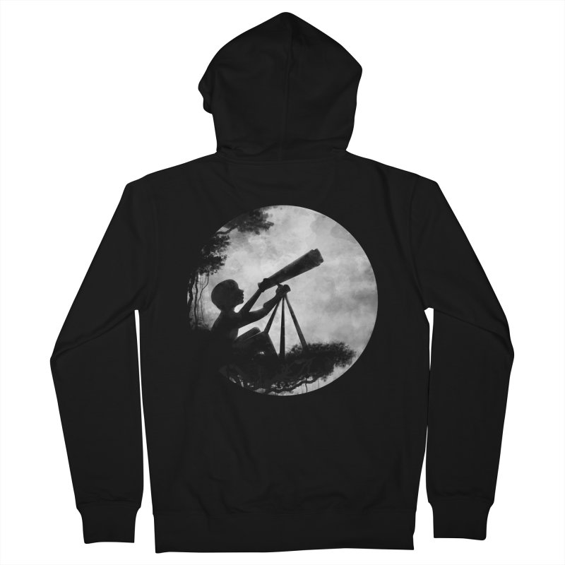 STARGAZER Women's Zip-Up Hoody by Winterglaze's Artist Shop