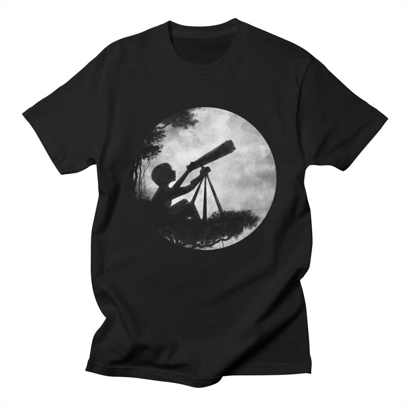 STARGAZER Men's T-Shirt by Winterglaze's Artist Shop