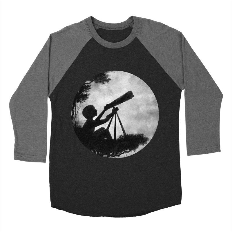 STARGAZER Men's Baseball Triblend T-Shirt by Winterglaze's Artist Shop