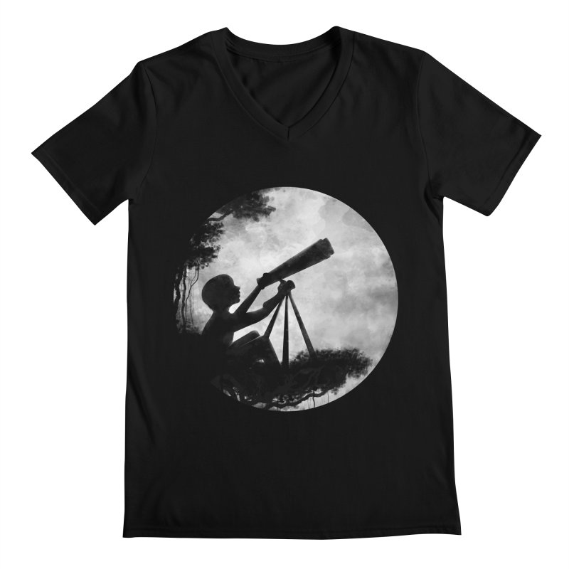 STARGAZER Men's V-Neck by Winterglaze's Artist Shop