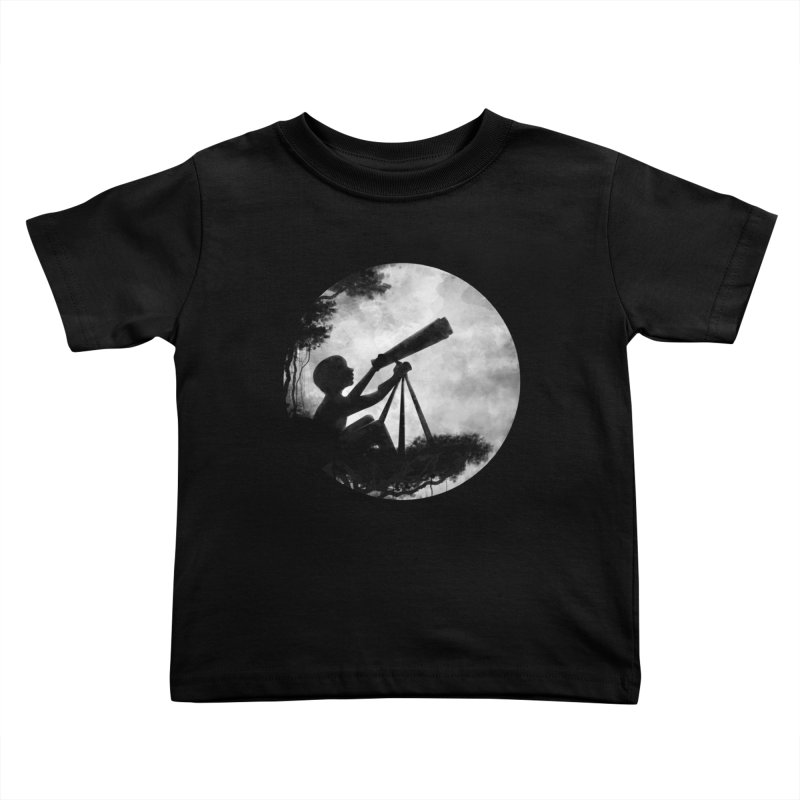STARGAZER Kids Toddler T-Shirt by Winterglaze's Artist Shop