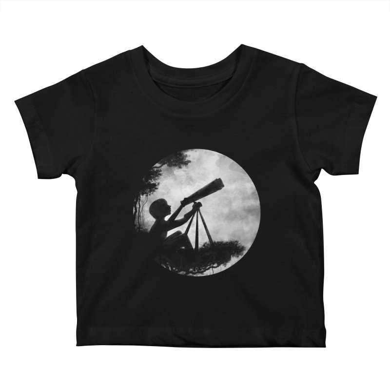 STARGAZER Kids Baby T-Shirt by Winterglaze's Artist Shop
