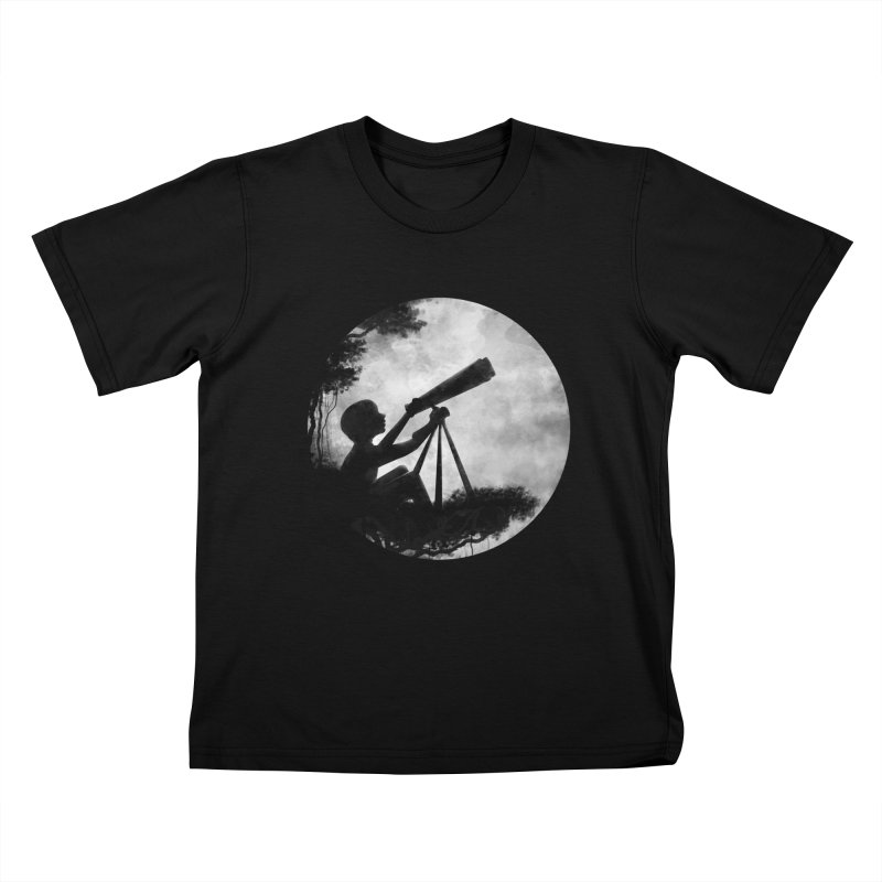 STARGAZER Kids T-shirt by Winterglaze's Artist Shop