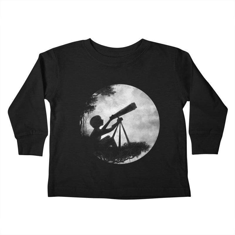 STARGAZER Kids Toddler Longsleeve T-Shirt by Winterglaze's Artist Shop