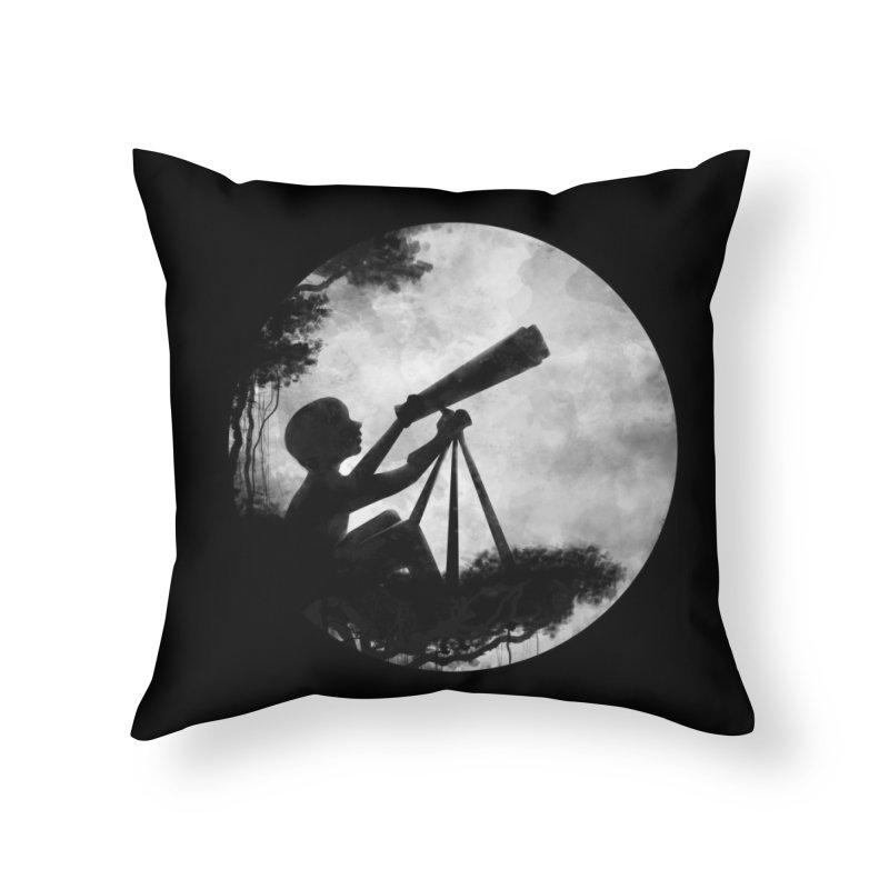 STARGAZER Home Throw Pillow by Winterglaze's Artist Shop