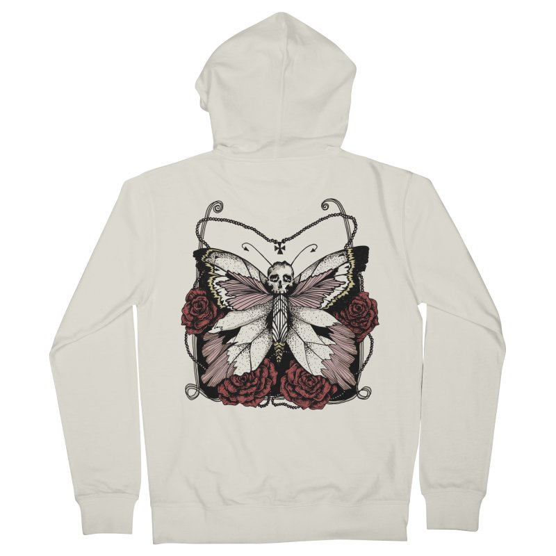 METAMORPHOSIS Women's Zip-Up Hoody by Winterglaze's Artist Shop